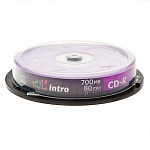 CD-R INTRO 52x 700Mb BULK